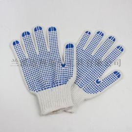 7針電腦機漂白雙面點塑手套