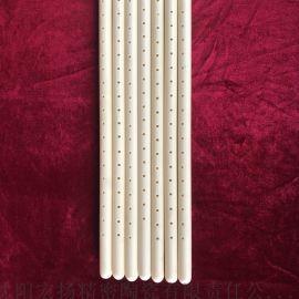 氧化铝陶瓷管 封头护管 双芯管 99瓷管