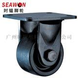 SEAWON/时韫3寸低重心脚轮 重型工业脚轮万向轮 黑色牛仔轮