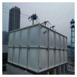 临时水箱 仁怀玻璃钢屋顶消防水箱生产厂家