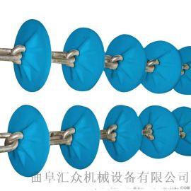 粉体料管链机 直角拐弯管链加料机 六九重工 加料机
