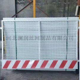 贵阳竖杆临时防护栏基坑护栏 临时基坑安全围栏