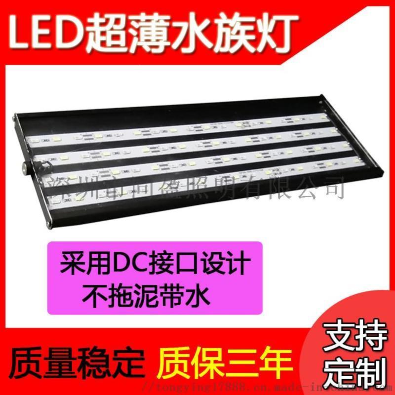 0.3m超薄LED水族灯 鱼缸灯 DC接口水草灯
