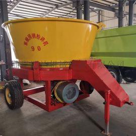 圆盘式玉米秸秆草捆粉碎机厂家 大型全自动草捆粉碎机
