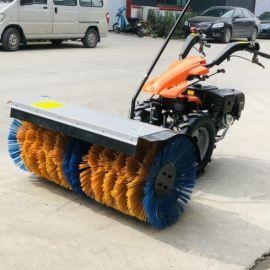 小型除雪机 汽油小区物业多功能扫雪机 手推式清雪机