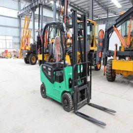 四轮小型全电动叉车 1吨2吨3吨全自动电动堆高车