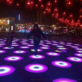 圓形地磚感應燈、互動圓形地磚感應燈專業可靠