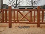 鄉村木欄杆水泥製作,景觀仿木欄杆廠家生產要求
