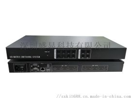 昆明4进4出hdmi高清矩阵支持无线平板控制
