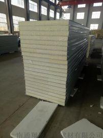 不锈钢聚氨酯冷库板50mm厚聚氨酯冷库保温板