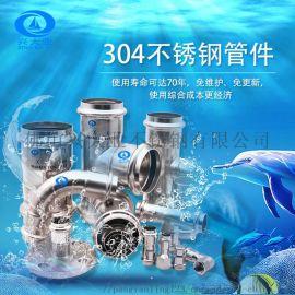 304覆塑不锈钢饮用水管 厂家直销