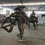 海南玻璃钢人物雕塑订制 历史文化主题玻璃钢景观雕塑