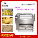 果蔬清洗去皮設備 土豆紅薯毛輥清洗機 蓮藕魔去皮機