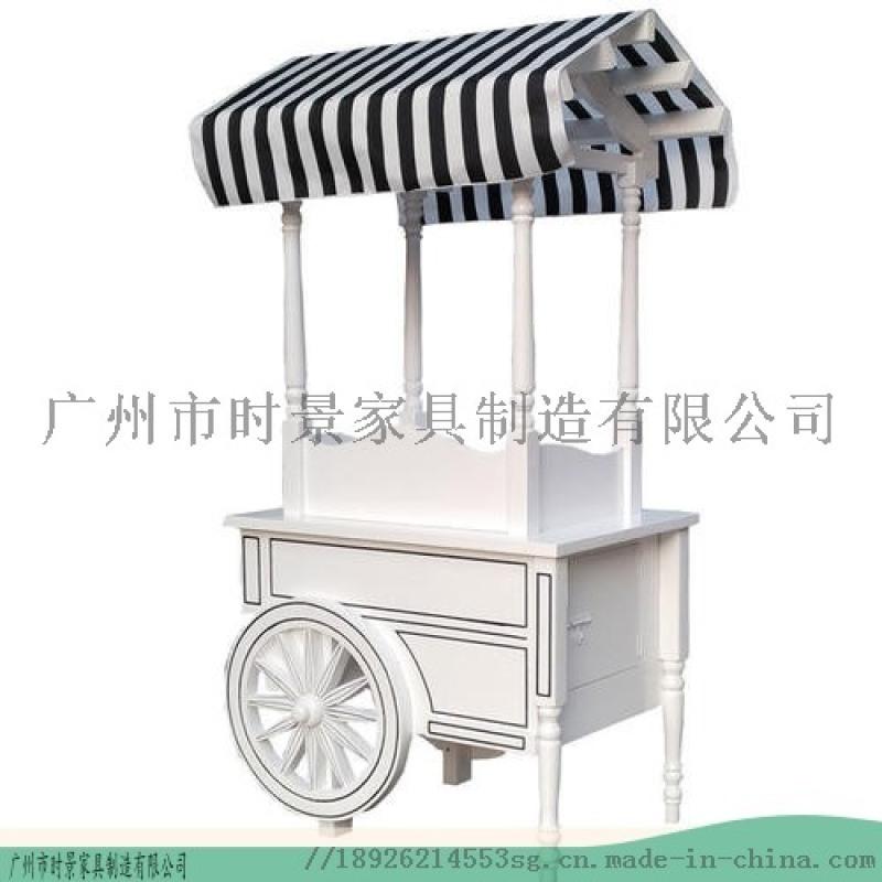 工厂实拍冰淇淋售货车-商业广场售卖车