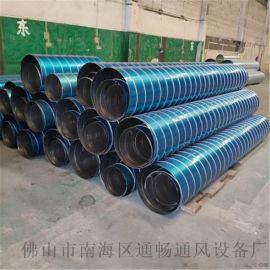 **白铁皮风管 不锈钢螺旋风管及配件供应商