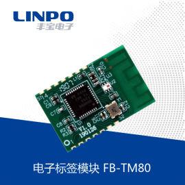 有源电子标签模块有源RFID模块开关量模拟量采集DIY模块 FB-TM80