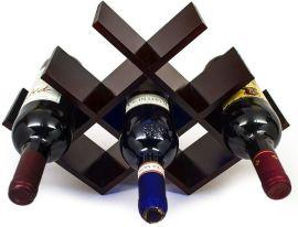 厂家定制透明亚克力红酒架酒吧托架家居置物架