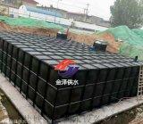 天津地埋式箱泵一体化消防水池现场安装