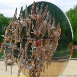 雕塑公司定制酒店家居不锈钢雕塑 摆件欧式抽象电镀