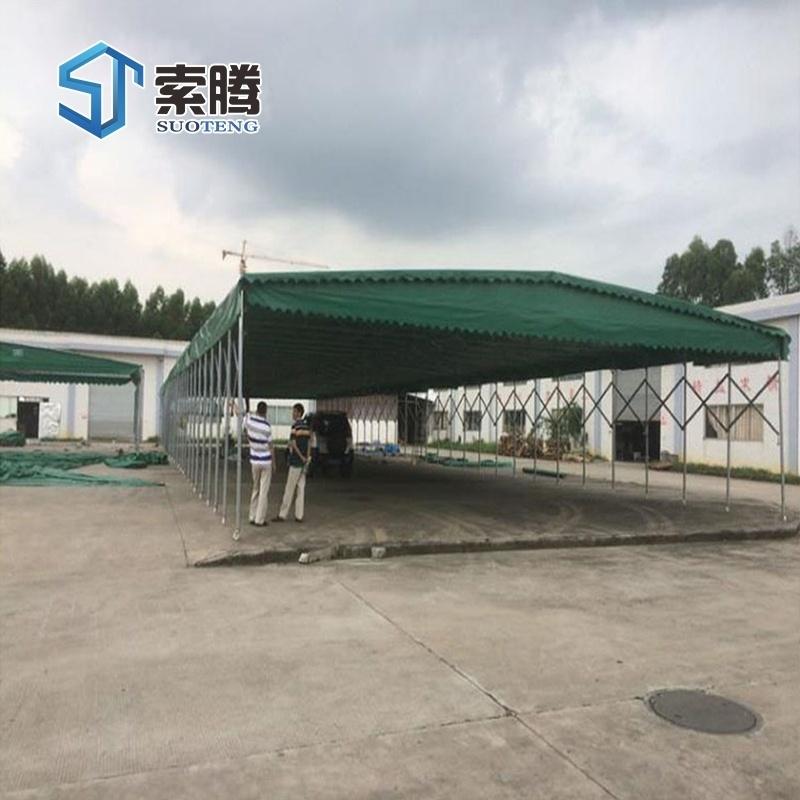 三門峽湖濱區工地戶外帳篷遮陽雨篷餐飲遮雨棚廠家直銷
