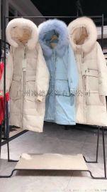 雪罗拉2020冬羽绒服 西树影黛 品牌折扣女装