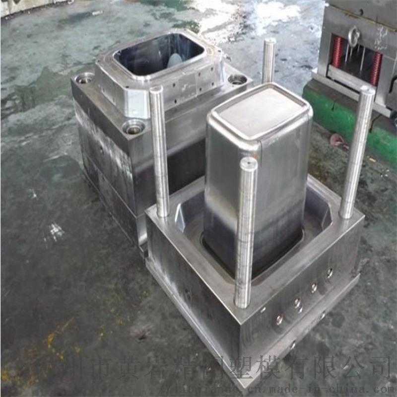 上海分类垃圾桶模具 注塑模具
