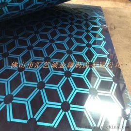 深圳酒店装饰 彩色不锈钢板 镜面不锈钢水波纹板