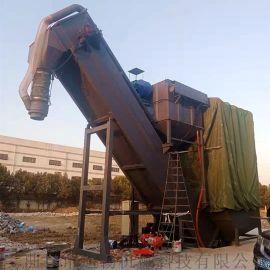 通畅翻箱卸灰机 无扬尘干灰水泥拆箱机 集装箱卸料机