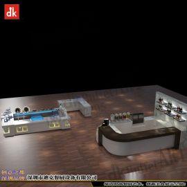 五星级酒店自助餐厅取餐台设计 CAD平面布局优化