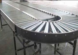 转弯滚筒线 箱包生产厂家用动力滚筒输送机 六九重工