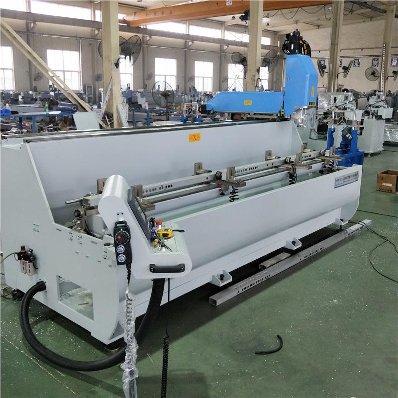 厂家直销铝型材高速钻铣中心 铝型材三面加工铣床