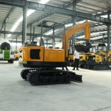 果园施肥小型挖掘机 除草施肥全新10型微型挖掘机