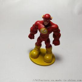 DC正義聯盟閃電俠手辦 人偶公仔擺件超人模型