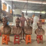 供应学校名人雕像 佛山玻璃钢名人头像雕塑