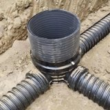HDPE污水雨水重型轻型加厚弯头塑料检查井厂家