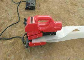 河南安阳爬焊机,自动爬焊机,土工膜焊接机焊接视频