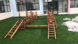 幼儿园木质滑梯,儿童实木滑滑梯,幼儿进口木梭梭板