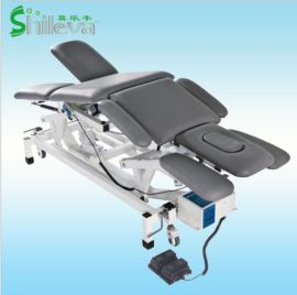 电动折叠治疗床, **护理床,五段位康复床