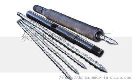 深圳电木注塑机螺杆炮筒,料管螺杆维修翻新厂家