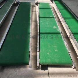 厂家直销 粮食流水线药品输送塑料挡边输送机