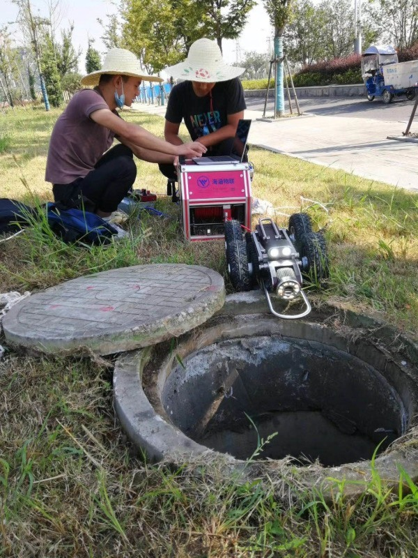 武汉海涵立科技 CCTV管道检测机器人
