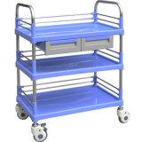 SKR005B 钢塑多功能推车 病人推车