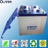UL認證,出口品質光伏電站用超長使用壽命2v2000ah鉛酸蓄電池