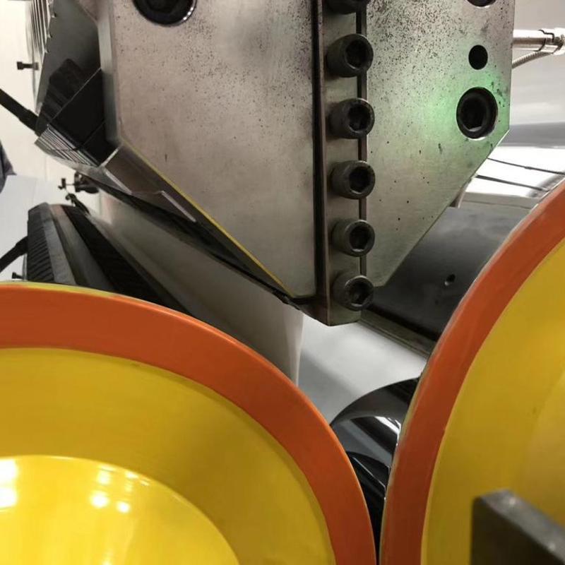 金韦尔PP玉米淀粉一次性环保餐盒片材生产机器