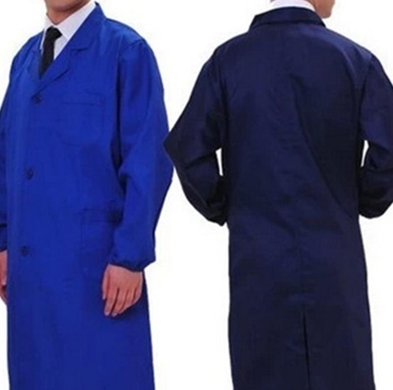 订做涤棉各种蓝大褂工作服长大褂劳保大褂搬运工长褂