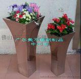 供应钛金,玫瑰金,古铜,金色不锈钢花盆,不锈钢花插,花箱