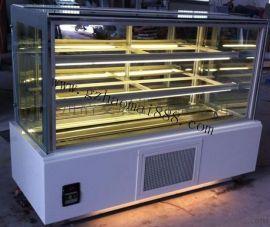 前开门直角柜 蛋糕柜 蛋糕展示柜 冷藏柜
