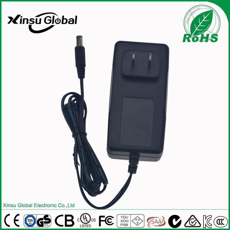 12V3A电源适配器 36W安防监控电源 六级能效 12V3A电源适配器