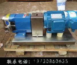 凸轮转子泵不锈钢转子泵-凸轮转子泵生产厂家-食品级火锅料-明峰泵业