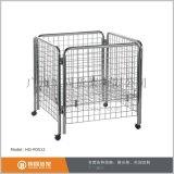 摺疊式促銷籠,電鍍網籠,移動促銷籠
